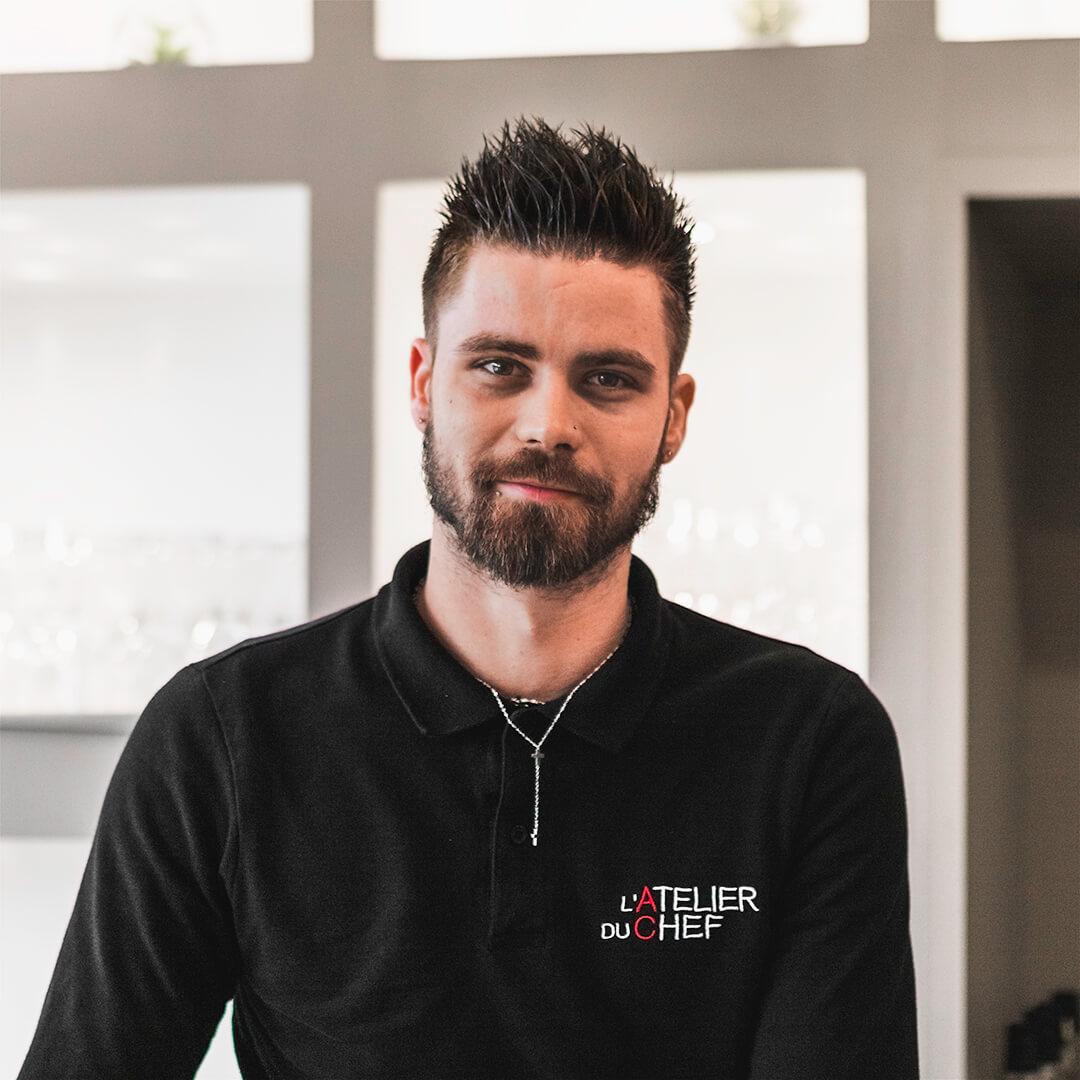 Alexandre HUGUEAlexandre HUGUENOT-DUFOUR - Responsable boutique de Biguglia - L'Atelier du Chef - Traiteur Corse