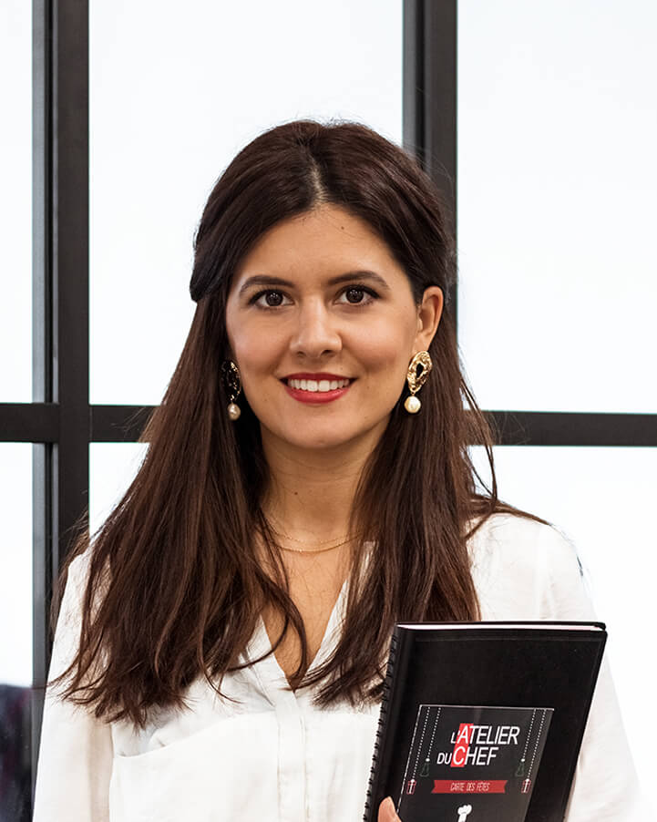 Marthe ALVES - Assistante de direction - L'Atelier du Chef - Traiteur Corse